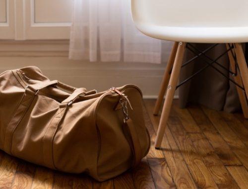valigia della mamma per l'ospedale