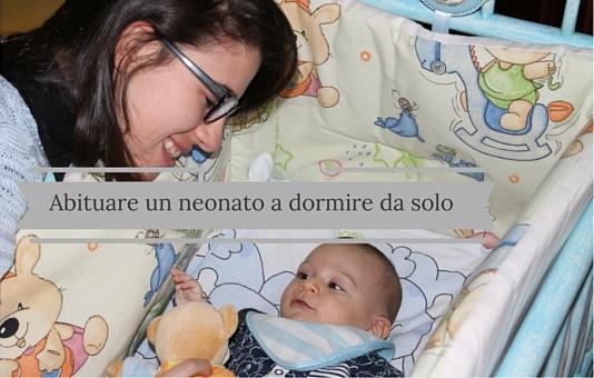 abituare-un-neonato-a-dormire-da-solo
