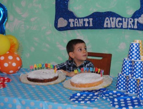 festa di compleanno di 3 anni