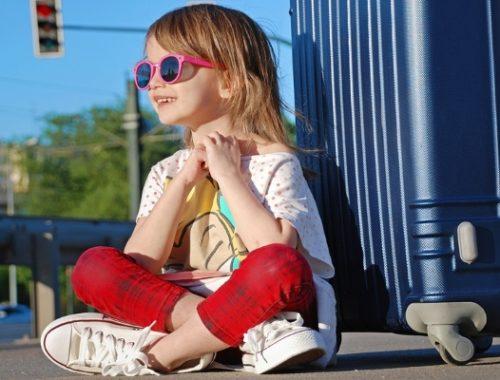 vacanza con i bambini-abbigliamento in valigia