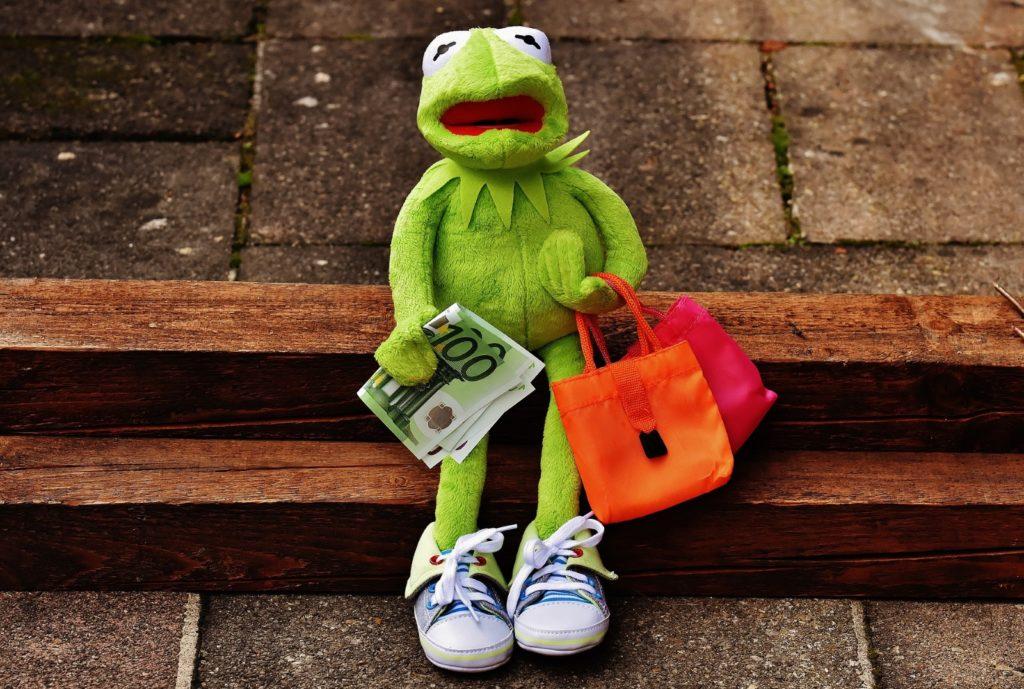 fare la spesa con bambini