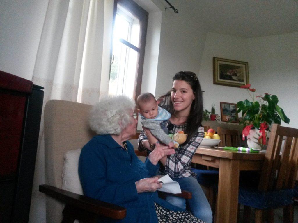 nonna Velia e Francesco