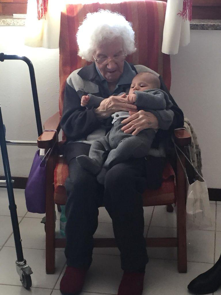 Dicembre 2018 - Nonna e Davide